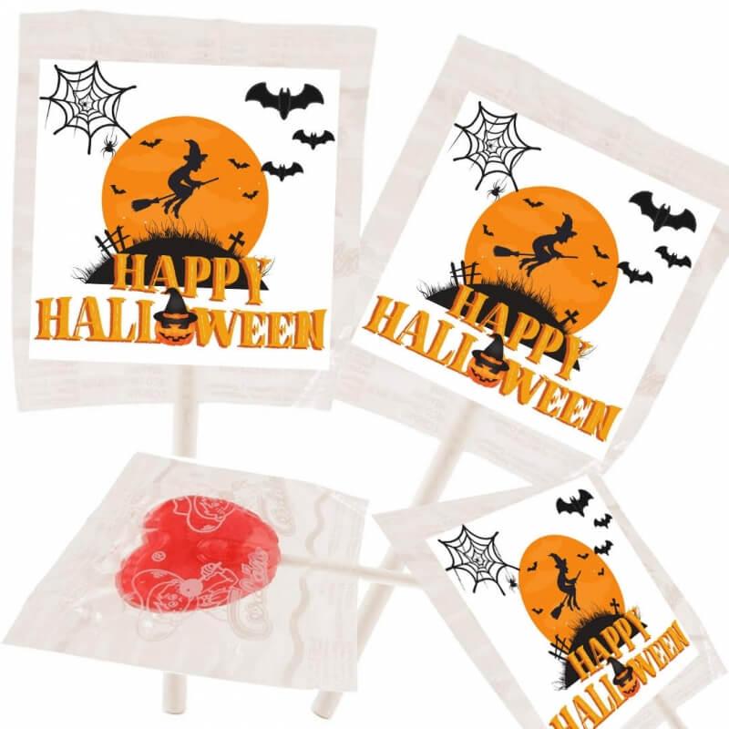 Piruletas Halloween
