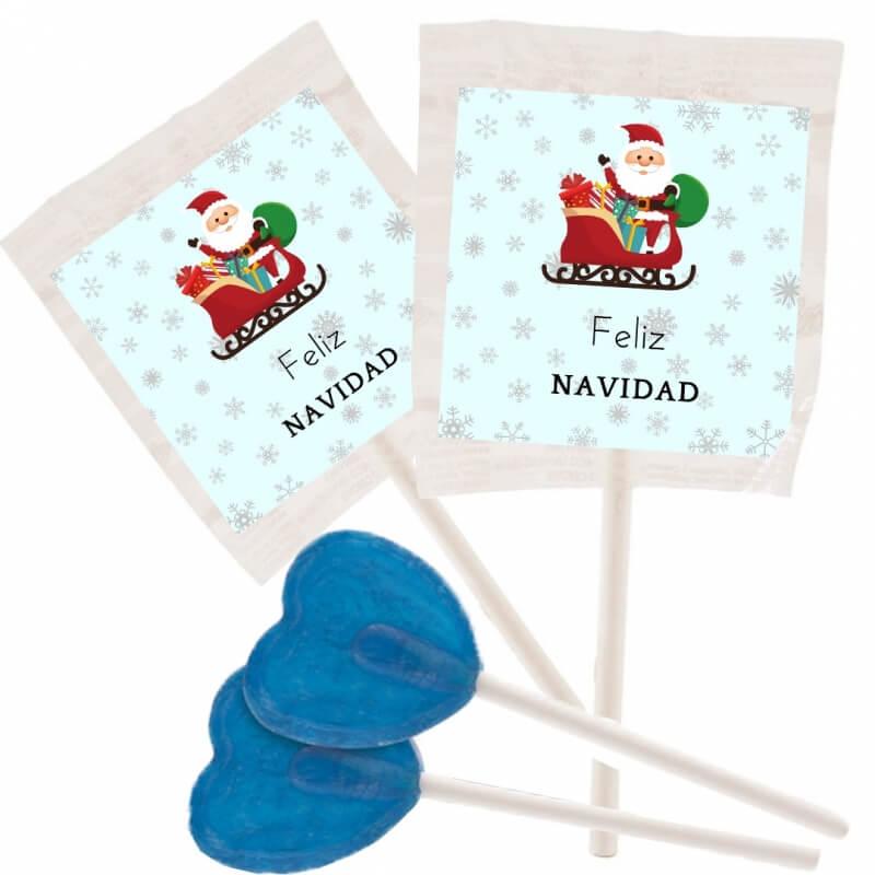 Blue lollipops