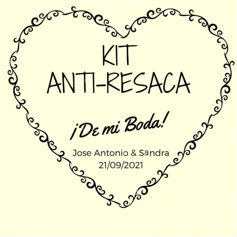 Pegatina kit antiresaca
