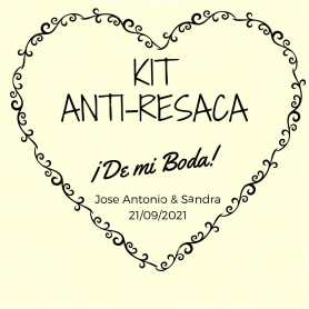 Kit anti resaca de bodas
