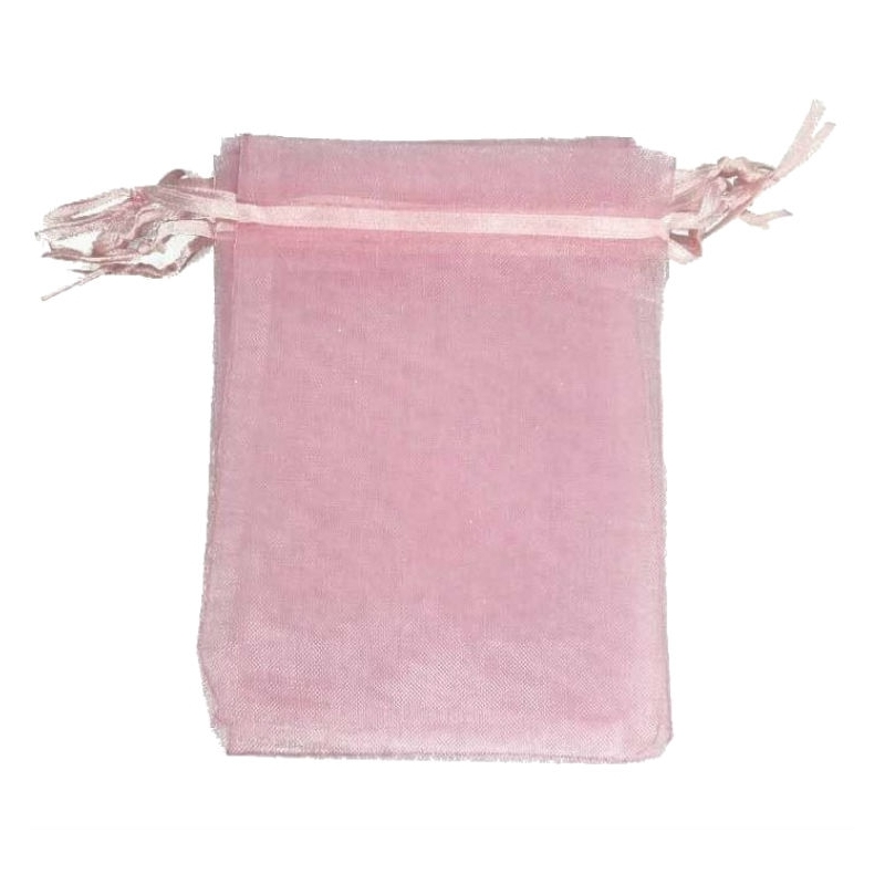 Light Pink Organza Bag 7x10