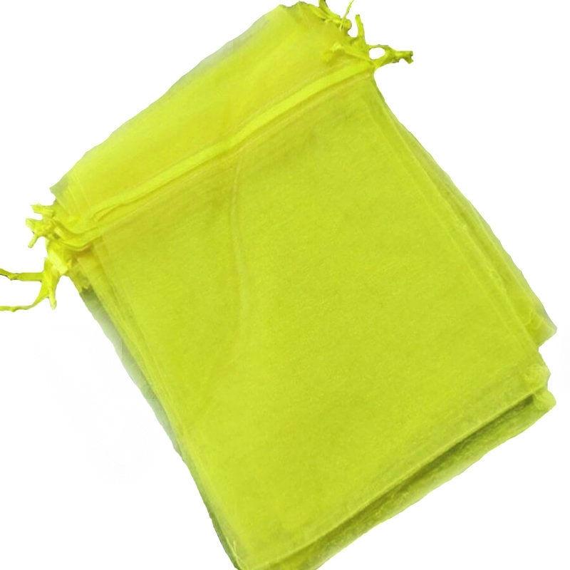 tenerife Bolsitas de organza amarilla 10 x 13 en Canarias