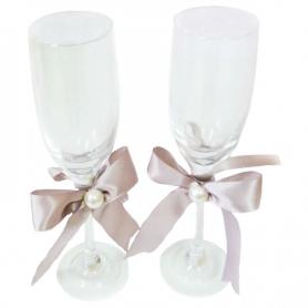 Copas de brindis para boda