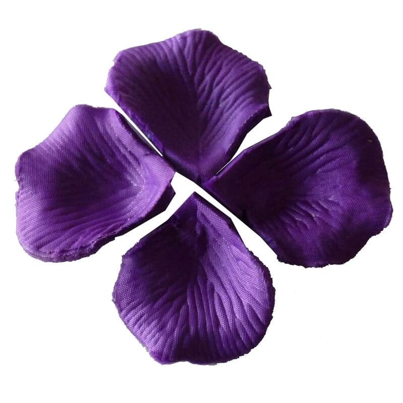 Pétalos color lila oscuro