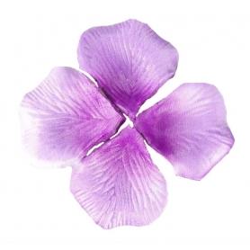 Petalos de rosa artificiales lila