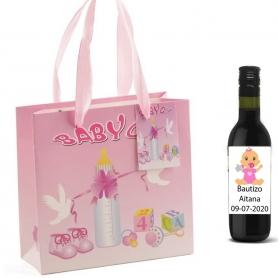 Botellas de Vino para Regalar en Bautizos