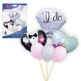 Pack globos boda