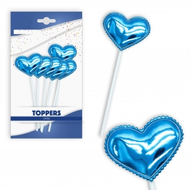 Pack toppers corazón