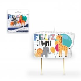 Velas cumpleaños animales