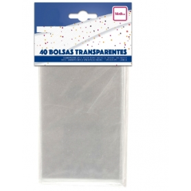Pack bolsas transparentes...