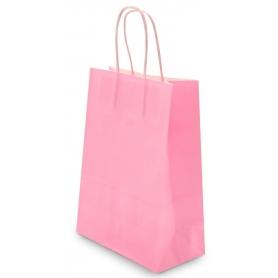 Bolsa papel rosa