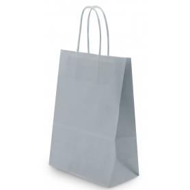 Bolsas de papel plateadas