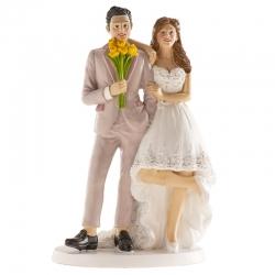 Figura pastel boda
