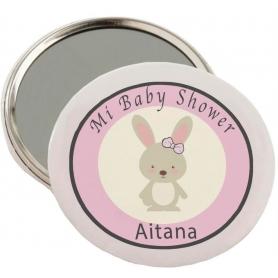 Espejo baby shower Detalles...