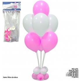 Soporte para decoración con globos