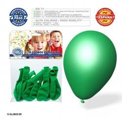 Pack globo verde lima