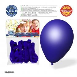 Pack globo azul marino