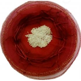 Bolsa de organza para arroz...
