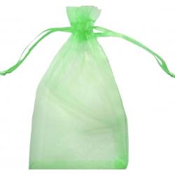 Bolsa de organza verde...