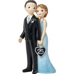 Figura bodas de plata