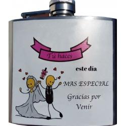 Petaca boda