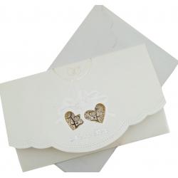 Invitación elegante boda