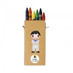 Lápices de Cera para Comunión de Niño
