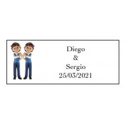 tenerife Etiqueta Adhesiva Gemelos en Canarias