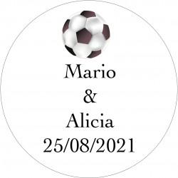 Adhesivos de Fútbol con nombres
