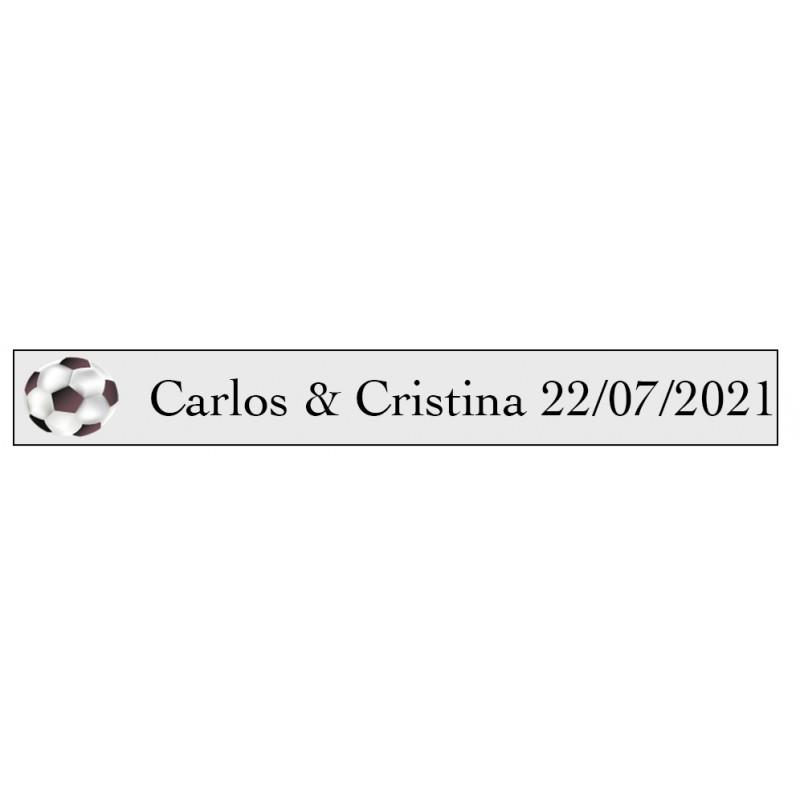 tenerife Vinilos Fútbol con nombres y Pelota en Canarias