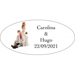 tenerife Adhesivo boda novio bebido en Canarias