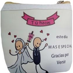 Monedero detalle boda