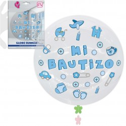 Globos decoración bautizo pack