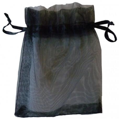 Bolsas organza baratas negra Bolsas organza 9x15 Bolsas de