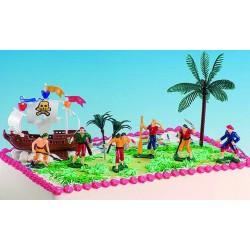 Kit pirata para tarta