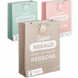Bolsas de papel para regalo personalizada