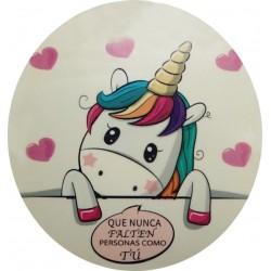 Vinilo adhesivo unicornio