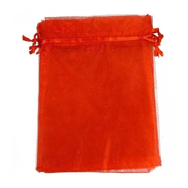 tenerife Saquito de Organza Rojo 7 x 10 en Canarias
