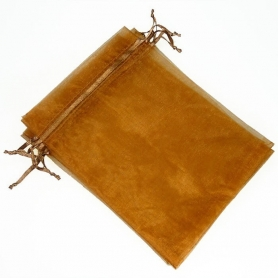 tenerife Bolsa de organza para detalles chocolate 15 x 20 en