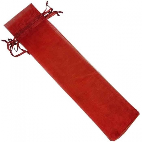 Organza bag for garnet fans