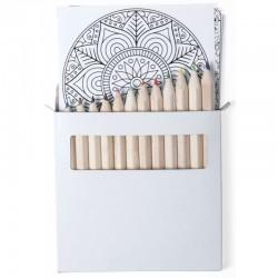 Puzzle con set de lápices y bolsa Detalles Personalizados Boda