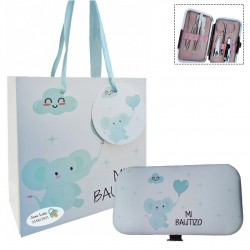 Set manicura con bolsa Detalles Personalizados Bautizo