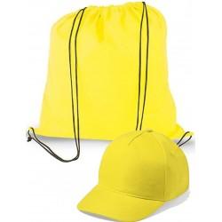Mochila y gorra para niños