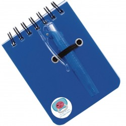 Libreta pequeña con bolígrafo Detalles Personalizados...