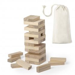 Jenga juego de madera en bolsa para regalar