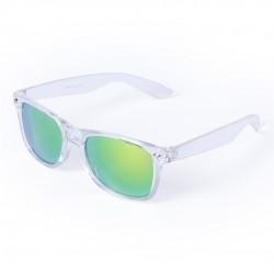 Gafas de Sol espejo montura transparente