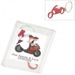 Llavero moto en caja de...