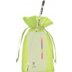 Libreta post it y lápiz de koala personalizado con bolsa