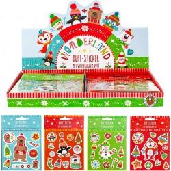 Pack de Pegatinas Figuras Navideñas para Niños