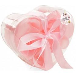 Jabón de color rosa personalizado para empresa